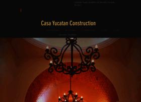 casayucatanconstruction.com