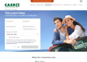 cash1titleloans.com