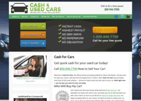 cash4usedcars.com