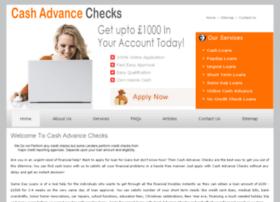 cashadvancechecks.co.uk