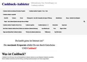 cashback-anbieter.com