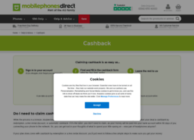 cashback.mobilephonesdirect.co.uk