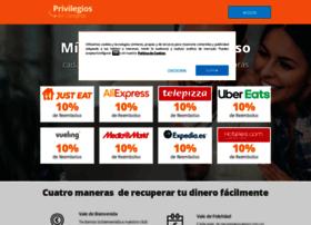 cashback.privilegiosencompras.es