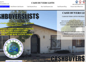 cashbuyerslists.com