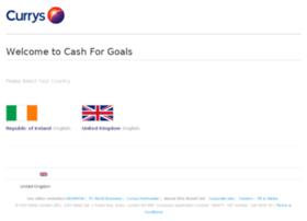 cashforgoals.com