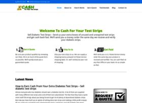 cashforyourteststrips.com