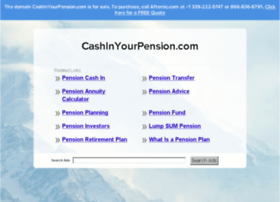 cashinyourpension.com