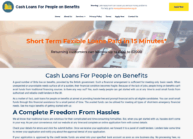 cashloansforpeopleonbenefits.co.uk