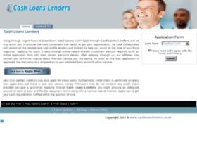 cashloanslenders.co.uk