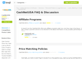 cashnetusa.knoji.com