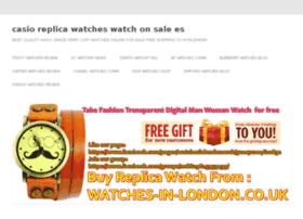 casio-replica-watches.watchonsale.es