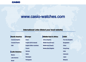 casio-watches.com