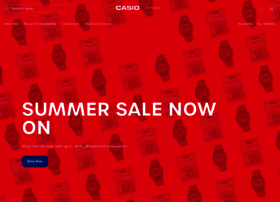 casio.co.uk