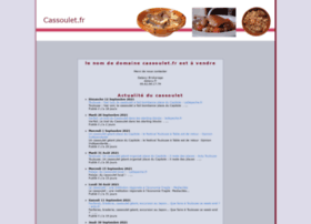 cassoulet.fr
