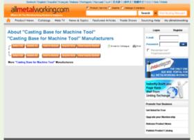 casting-base-for-machine-tool.allmetalworking.com
