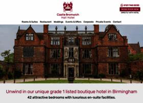 castlebromwichhallhotel.co.uk