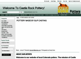 castlerockpottery.com