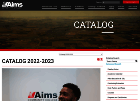 catalog.aims.edu