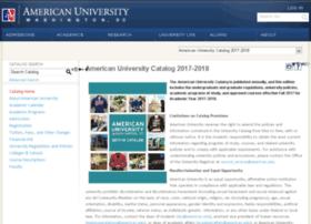 catalog.american.edu