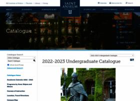 catalog.anselm.edu