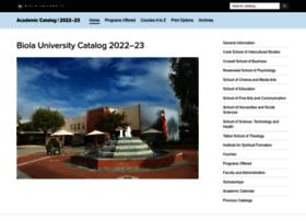 catalog.biola.edu