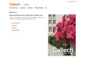 catalog.caltech.edu