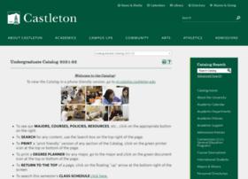 catalog.castleton.edu