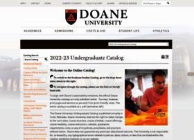 catalog.doane.edu