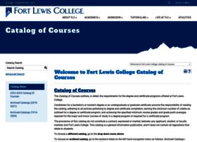 catalog.fortlewis.edu