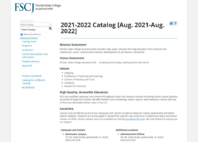 catalog.fscj.edu