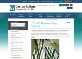 catalog.gaston.edu