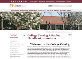 catalog.indianhills.edu