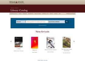 catalog.library.txstate.edu
