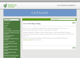 catalog.mountida.edu