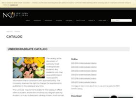 catalog.nku.edu