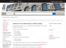 catalog.nyam.org
