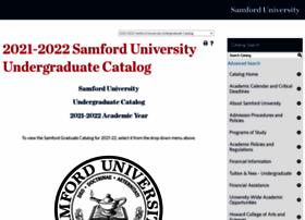 catalog.samford.edu
