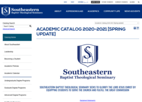 catalog.sebts.edu