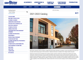 catalog.sunyulster.edu
