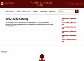 catalog.swau.edu