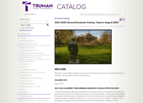catalog.truman.edu