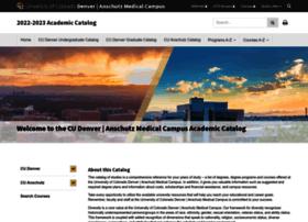 catalog.ucdenver.edu
