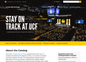 catalog.ucf.edu