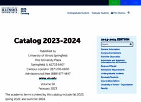 catalog.uis.edu