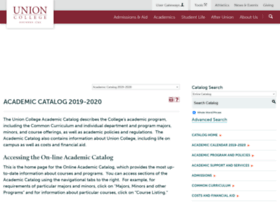 catalog.union.edu