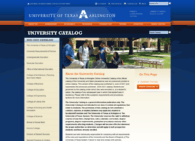 catalog.uta.edu