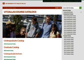 catalog.utdallas.edu