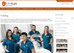 catalog.uthscsa.edu