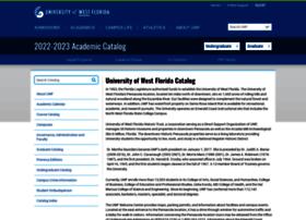 catalog.uwf.edu