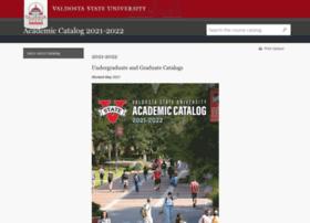 catalog.valdosta.edu